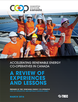 Accelerating Renewable Energy Co-ops in Canada