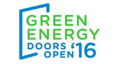 Green Energy Doors are open this weekend!
